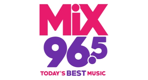 Mix 96.5 Tulsa - Today's Best Music! Logo